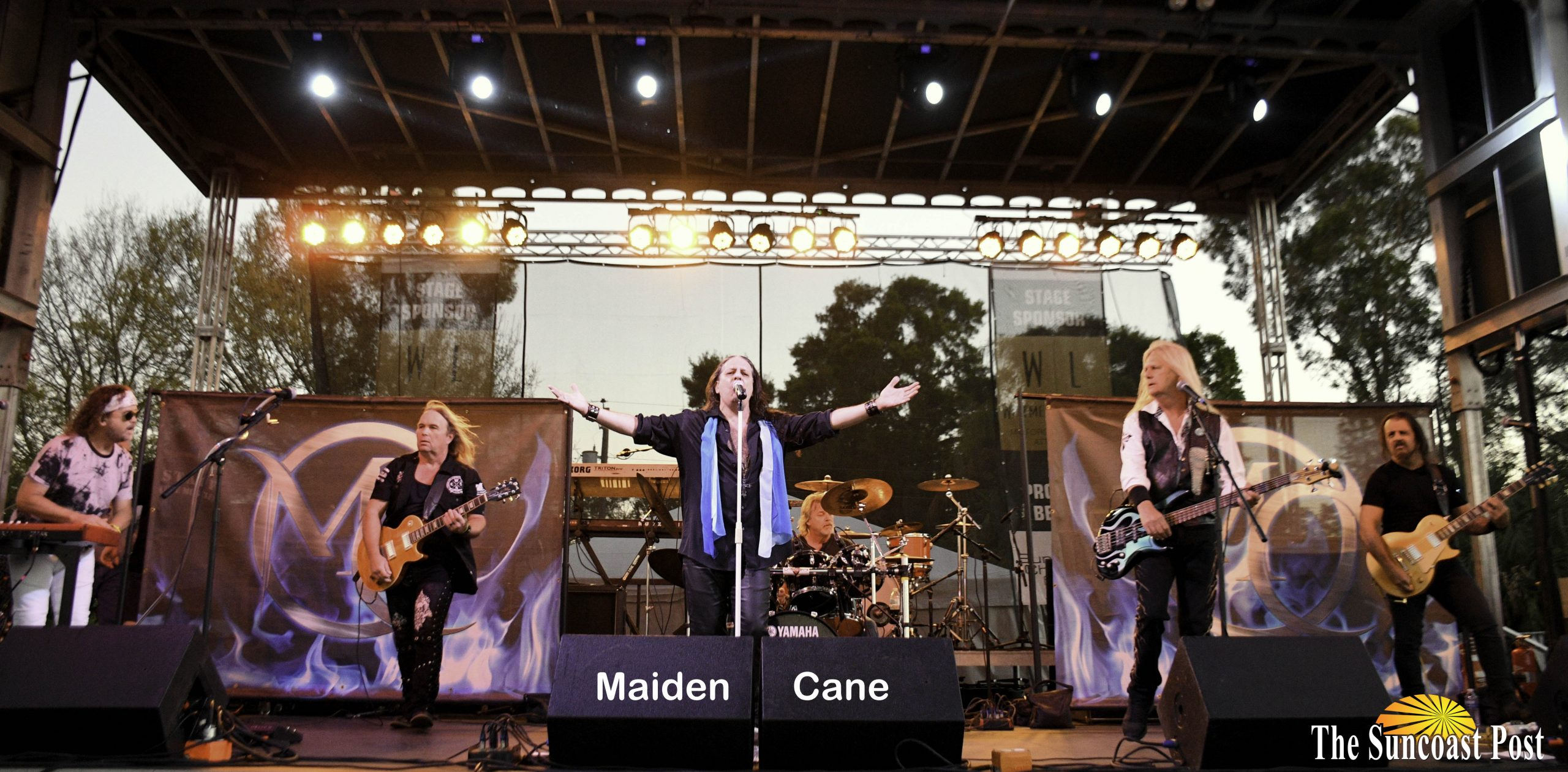Maiden Cane -  - Thunder by the Bay